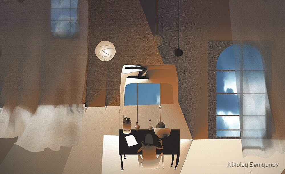 dressing table by Nikolay Semyonov
