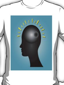 Concept of IDEA with human head T-Shirt