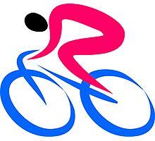 Cyclist Icon Photographic Print