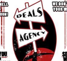 Crowley's Deals Agency Sticker