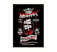 Crowley's Deals Agency Art Print