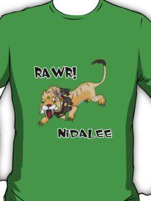 Nidalee Cat Form T-Shirt