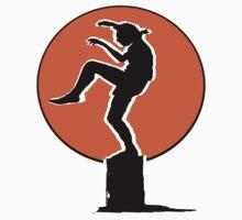 Karate Kid Crane Kick by jackandcharlie