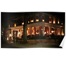 Historic District Christmas Poster