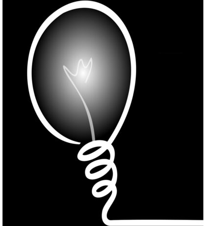 Concept of IDEA with Light bulb Sticker