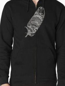 Feather Paper-Cut T-Shirt