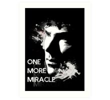 Sherlock - One More Miracle Art Print