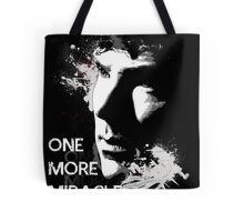 Sherlock - One More Miracle Tote Bag