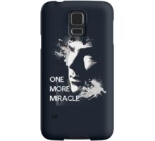 Sherlock - One More Miracle - BLUE (Iphone & Ipad ONLY) Samsung Galaxy Case/Skin
