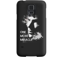 Sherlock - One More Miracle - GREY (Iphone & Ipad ONLY) Samsung Galaxy Case/Skin