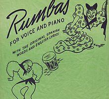 TUMBANDO CANA (vintage illustration) by ART INSPIRED BY MUSIC