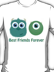Best Friends, Mike and Sully T-Shirt