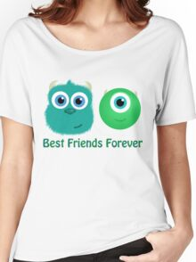 Best Friends, Mike and Sully Women's Relaxed Fit T-Shirt