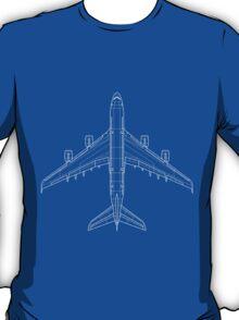 Airbus A380 Blueprint T-Shirt