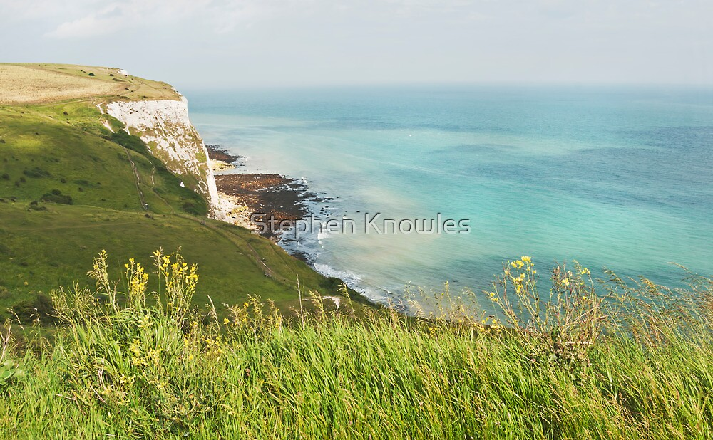 White Cliffs of Dover 2 by Stephen Knowles
