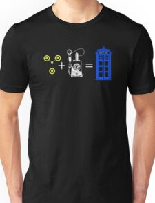 Time Travel Equation Unisex T-Shirt