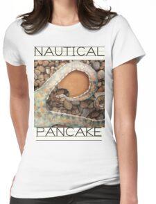 Nautical Pancake Womens Fitted T-Shirt