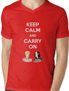 Carry On, Simon Mens V-Neck T-Shirt