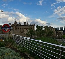 London Underground and the Tower of London by Georgia Mizuleva