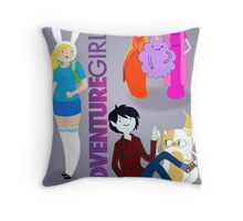 Now in Poster form, Adventure Girls!  Throw Pillow