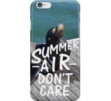 Summer Air iPhone Case/Skin