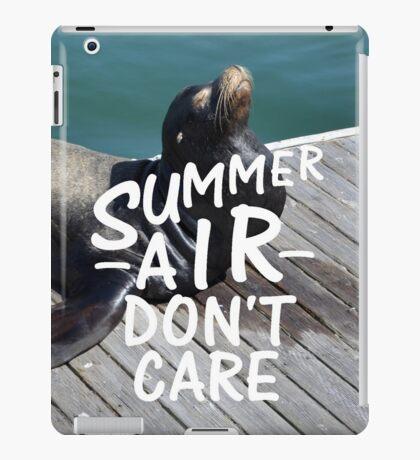 Summer Air iPad Case/Skin