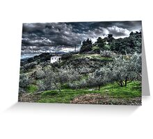 HDR Field Greeting Card