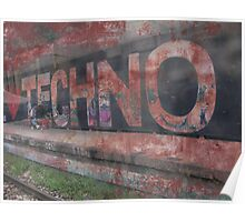 Techno Love Poster