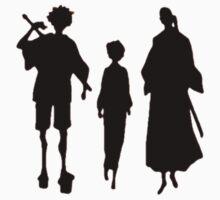 Samurai Champloo Silhouettes  Kids Clothes