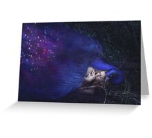 Night Sky Bird Greeting Card