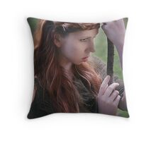 Dreams of Valhalla Throw Pillow