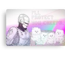 I'll Protect You Creeps Canvas Print
