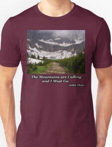 Iceberg Lake Unisex T-Shirt