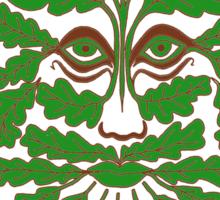 Greenman no background Sticker