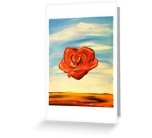 Meditation Rose Greeting Card