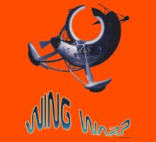 Storch Wing Warp T-shirt Design by muz2142