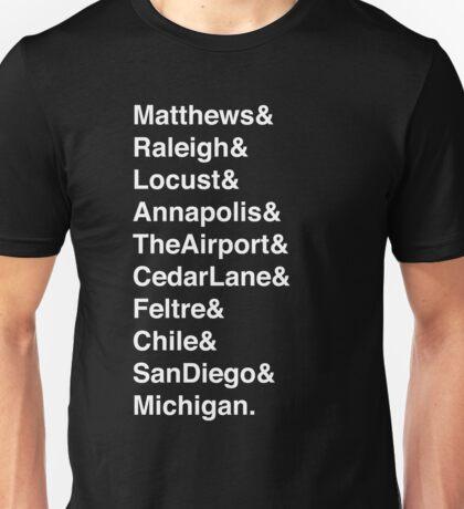 All The Avett Brothers' Pretty Girls Unisex T-Shirt
