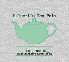 Halpert's Tea Pots Mens V-Neck T-Shirt