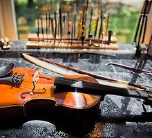 Fiddler's Workbench by Bonnie T.  Barry