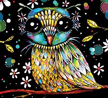 The Peridot Owl by © Karin  Taylor