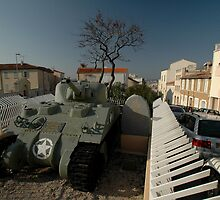 US Army Tank Liberation Memorial, Marseilles, France 2012 by muz2142