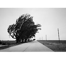 Oklahoma Route 66, 2012, B&W. Photographic Print