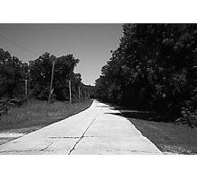 Missouri Route 66, 2012, B&W. Photographic Print