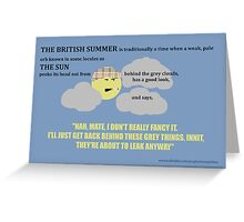 The British Summer Greeting Card