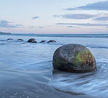 Moeraki Boulders _ New Zealand by Barbara Burkhardt