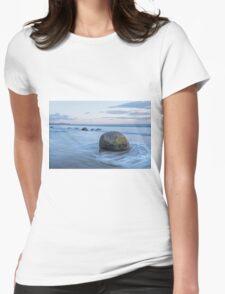 Moeraki Boulders _ New Zealand Womens Fitted T-Shirt