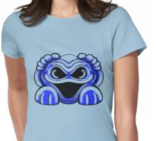 Monster Blue Womens Fitted T-Shirt