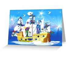 Angelic Voyage Greeting Card