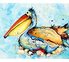 Mr Pelican by Cindy Curby