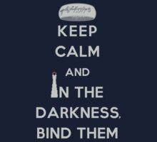 Keep Calm and Bind Them Kids Clothes